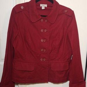 Ann Taylor LOFT Double Button Jacket